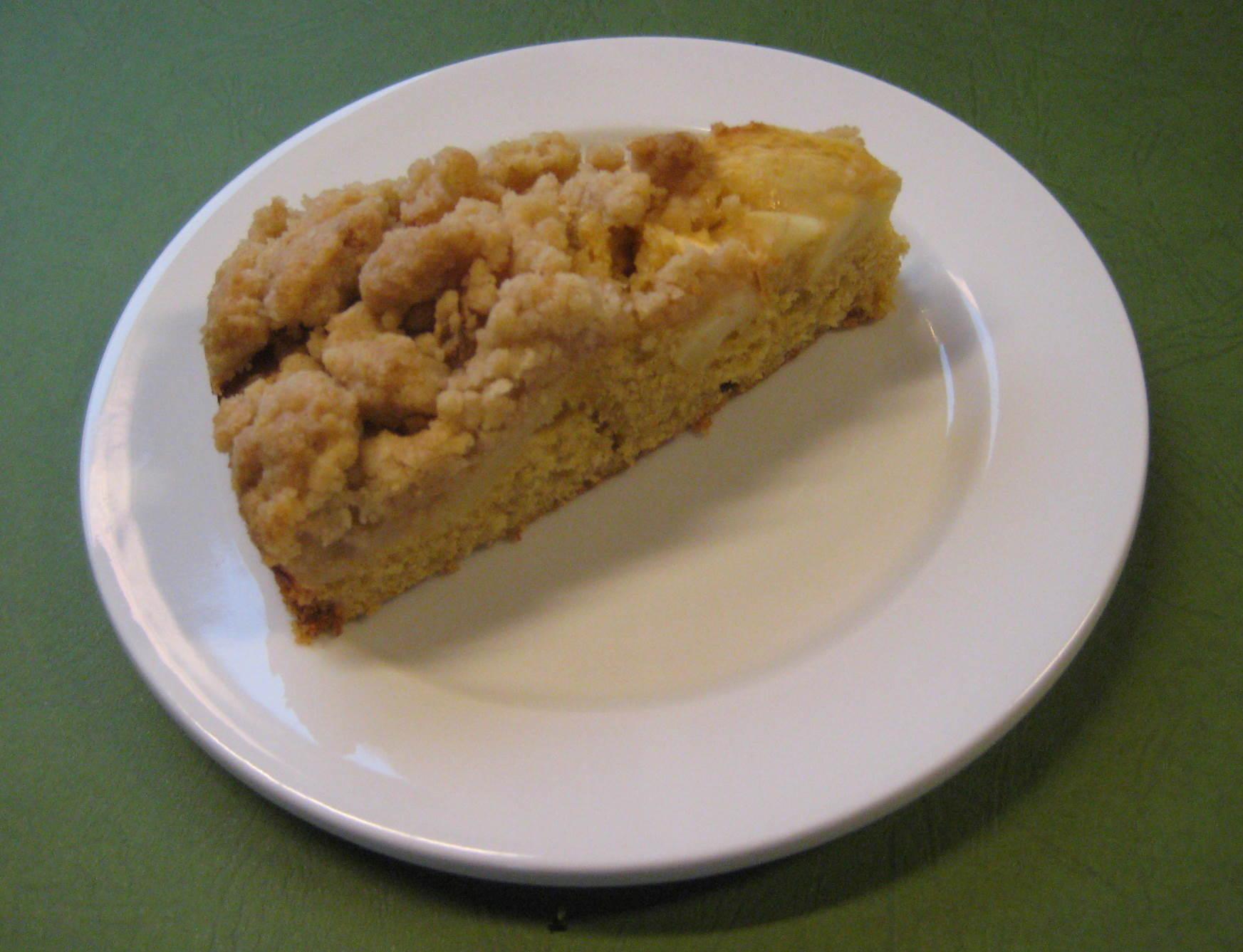 Rezept Apfelkuchen Mit Ruhrteig